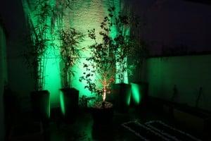 luminaires led extérieur vert