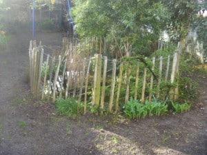 clôture en châtaignier basic