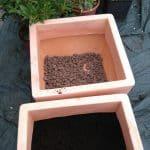Jardinière rotomoulée, légère et solide