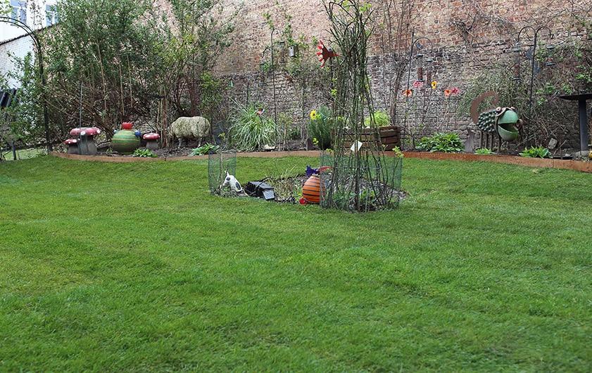 Exemple remise neuf d 39 un jardin plaisir vert for Jardinier paysagiste 91