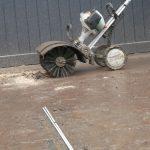 Nettoyage au MM55 de Stihl