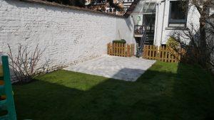 Terrasse créée