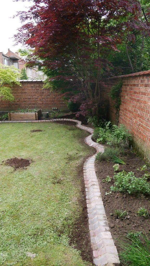 Bordures en klinkers de Cobo Garden