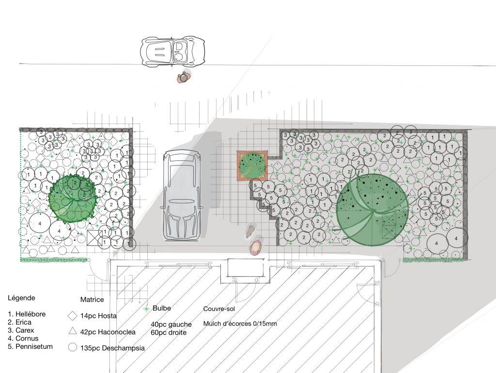 Etude de chantier service de plaisir vert jardinier de for Jardinier bruxelles